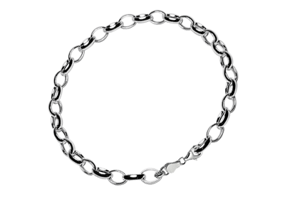 Silver bracelet for kids 16 cm.